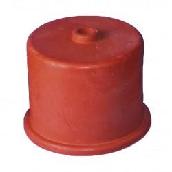 gistkap rubber nr. 4A, 50 mm, met 9 mm gat
