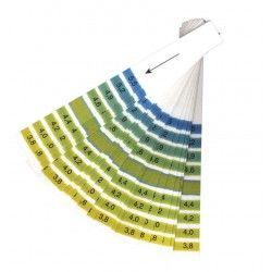 pH papier (lakmoes) 3,8 - 5,5