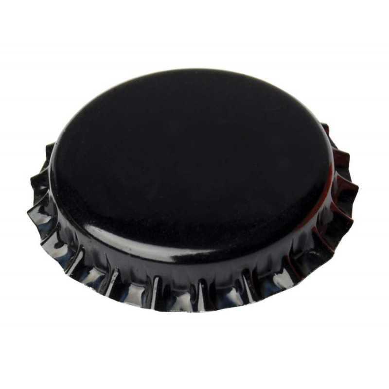 Kroonkurken 26 mm zwart