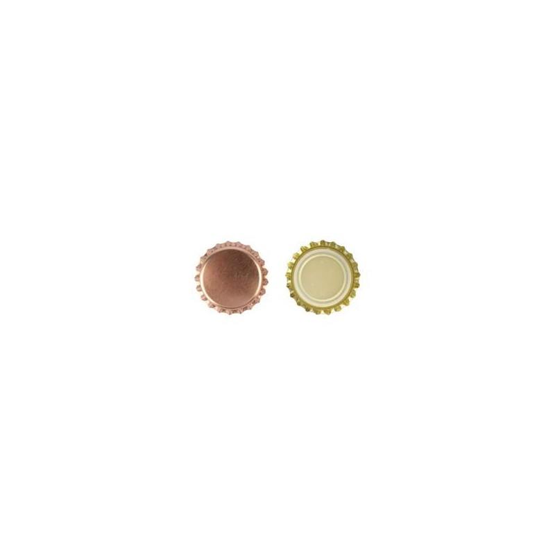 Kroonkurken 26 mm brons