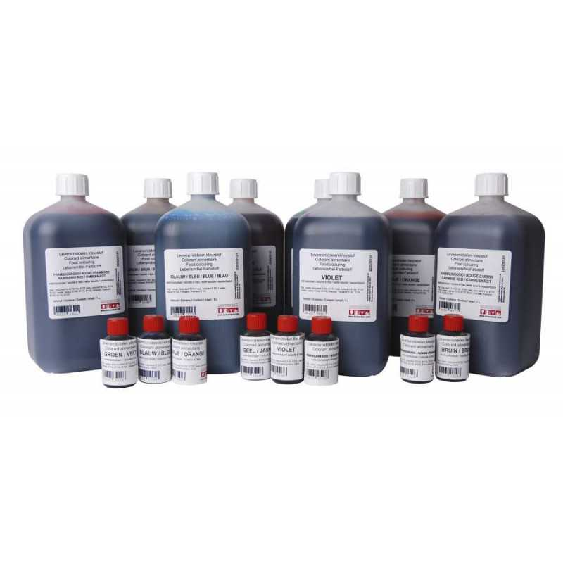 Kleurstof karmijnrood 1 liter
