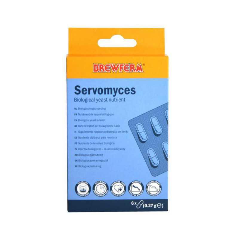 Brewferm Servomyces gistvoeding - 6 capsules